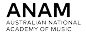 Australian national academy of music